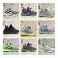 Wholesale real leather running shoes for sale - Group buy NEWEST Top Sply Static Zebra Blue Tint Beluga Bred Butter Cream Sesame Semi Frozen Yellow Real BASF Mens Running Shoes Women Sneaker