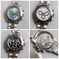 Wholesale swiss diving watch for sale - Group buy Basel world Swiss Luxury Super N Factory Ceramic Bezel Automatic Cal Movement L Steel Bracelet Chronograph Diving Swim Mens Watches