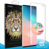 3d baskı ekranı toptan satış-Samsung Galaxy S10 Artı S10E Yumuşak TPU Ekran Koruyucu Film parmak baskı KIMLIĞI dokunmatik dostu Tam Kapak Ekran Koruyucu değil cam