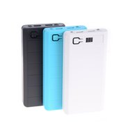 Wholesale usb battery holder for sale - Group buy 2 USB Ports x DIY Portable Battery Holder LCD Display Power Bank Case Box