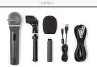 orijinal kaliteli mikrofonlar toptan satış-% 100 Orijinal Samson Q2U El Dinamik USB XLR Mikrofon ve USB I / O Yüksek Kalite