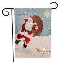 ingrosso bandiera di alta qualità-Home Giardino banner banner Bandiera a tema natalizio bandiera banner di alta qualità Decorazione per vacanze invernali
