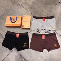 ingrosso biancheria intima brandnew del ragazzo-Marca VV Boys Boxer traspiranti Underpants New Designer Mens Underwear Boxer regalo 5