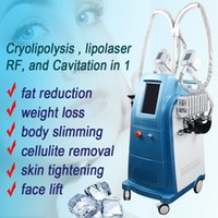 Wholesale cryo lipolysis machines for sale - Group buy Freezing fat machine Cryo Lipolysis Slimming vacuum cryolipolysis beauty rf machines for sale years free warranty