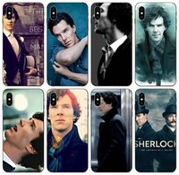 Wholesale iphone 5c s online – custom TongTrade Sherlock Holmes Benedict Cumberbatch S Case For iPhone Pro X XS Max XR s s c Galaxy J5 Huawei P10 Sony Xperia Z Cover Case