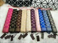 tops de hilo al por mayor-2019 bufanda de la manera suave de algodón jacquard de hilo teñido superior chales bufanda de los hombres y de las mujeres 180 * 70cm