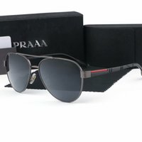 Wholesale men s sport fashion sunglasses resale online - Classic Men Popular designer Brand sunglasses s Retro Vintage Shiny Black Spring Style UV400 Eyewear Fashion Womens Sunglass
