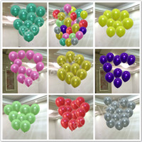 100pcs Lot 1.5g Inflatable Pearl Latex Balloon for Wedding Decorations Air Ball Party Supplies Happy Birthday