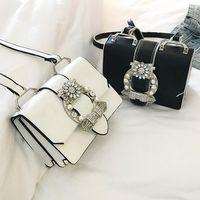 Wholesale extra large ladies handbags for sale - Designer Famous Bags For Women Designer Diamond Lock Bags Quality PU Leather Women Handbags Elegant Lady Shoulder bags Y18102004