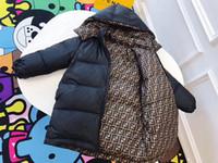 девушки в парке длинные оптовых-Толстые Теплые длинные куртки Зимние мальчики девочки Водонепроницаемая вниз куртка для девочки Дети Мальчики Верхняя одежда пальто Дети Parka 3-х цветов