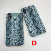 Wholesale apple phone sets online – custom Designer Phone Case snake stripes cases Set auger Retro Style For Iphone8 P For IphoneX XS