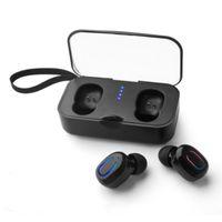 fabrik iphone kopfhörer großhandel-Fabrik direkt T18s Bluetooth 5.0 Kopfhörer TWS Wireless Kopfhörer In-Ear-Freisprecheinrichtung Sport-Ohrhörer mit Mikrofon-Ladebox