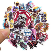 Wholesale window laptops for sale - Group buy 50 Mixed Car Stickers star hot movies wars For Laptop Skateboard Pad Bicycle Motorcycle PS4 Phone Decal Pvc Stickers