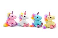 küçük doldurulmuş oyuncaklar çantası toptan satış-Renkli Peluş Oyuncak Sırt Çantası Kolye Anahtarlık Dolması Hayvan Peluş Anahtarlıklar Küçük Kolye Çanta Aksesuarları Melek Dolması dolldoll