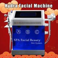 ingrosso spruzzo hydra viso-7 in 1 Hydra dermoabrasione Aqua Peel RF bio-lifting facciale Spa Hydro Acqua microdermoabrasione facciale ossigeno spray macchina fredda del martello