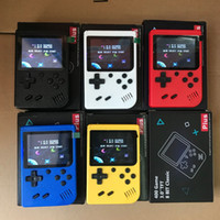 Wholesale video games player for kids resale online - Mini Handheld Game Console Portable Retro Bit in FC Games AV Line To TV Video Game Player for Kids Birthday Christmas Gift