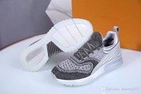 продажа плетеной обуви оптовых-2019 Горячие продажи новых ботинок переплетения мужчин и женщин кроссовки Трикотажные туфли высокого качества и низкой цене 35-46 мл190404