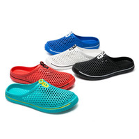 Wholesale slippers for mens for sale - Group buy Hot Sale Mens Breathable Mesh Slippers For Man Summer Outdoor Sport Sandals Casual Slip on Light Weight Comfortable Loafers