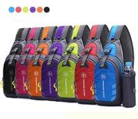 ingrosso sacchetto del telefono di corsa del corpo-Sexy2019 vendita calda signore uomini sacchetto della busta in nylon nylon singola spalla esterna studente di carico cross body borse da viaggio 7 colori