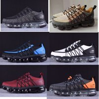 Wholesale best running shoes for sale - Group buy 2019 Run Utility Men Running Shoes Best Quality Black Anthracite White Reflect Silver Discount Shoes Sport Sneakers Size