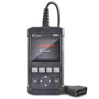 Wholesale obd2 auto scanner launch resale online - Launch Creader CR5001 ODB2 OBD2 Autos scanner Support Multi language Automotive For VW BMW BENZ Car Diagnostic
