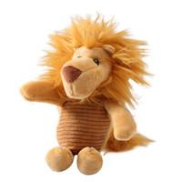Wholesale new elephant decor resale online - Elephant Lion Plush Doll Pendant Car Keychain Key Ring Bag Hanging Decor Gift New Hot