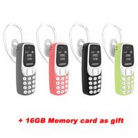 teléfono móvil del teléfono celular 32g al por mayor-Teléfonos celulares pequeños, bandas de mundo, teléfono móvil, mini, teléfono inalámbrico, llavero BT Dialer Earhook 0.66