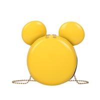 kleine junge mädchen taschen großhandel-2019 Sommer neue Mickey Ear Jelly Bag einfache vielseitige junge Mädchen kleine frische Stil Umhängetasche Shiny Lady Bag