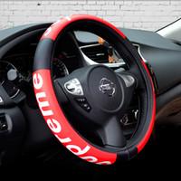 ingrosso ruote auto di bmw-auto lusso coprivolante auto copertura del volante in pelle cuscini di seduta sup decorazione moda nero BMW Accessori auto