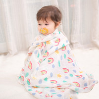 Wholesale kid diapers resale online - Baby Blanket for Newborns Muslin Diaper Super Soft Bamboo Cotton Swaddle Stroller Bedding Wrap Kids Children Bath Towel x120