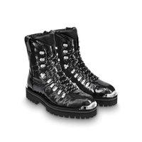 botas de deserto dos homens venda por atacado-Mulheres de luxo Preto Marrom Martin Botas de Plataforma Bota de Deserto Dos Homens de Trabalho Caminhadas Botas Casuais Tornozelo Bota Designer de Inverno Sapatos Homem Mulher