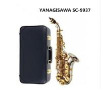 Wholesale nickel soprano saxophone resale online - 2019 New Japan Yanagisawa Soprano Saxophone B Tune Nickel Plated Yanagisawa SC Musical Instrument Promotions