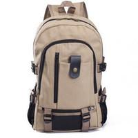 Wholesale travel bag models for sale - Group buy Designer Hot Fashion Good Bag Explosion Models Men s Backpack Leisure Travel Essential Canvas Bag Student Bag