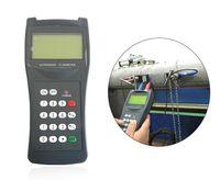 medidor de vazão ultra-sônico venda por atacado-Medidor de Vazão Ultrassônico Handheld TDS-100H M2 (50-700mm) com CD medidor de vazão de água 100-240 V Portátil medidor de vazão ultrassônico Portátil