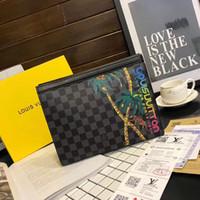 handy-kupplung geldbörse großhandel-Männer Brieftasche Luxus Geometrische Frauen Lange Brieftasche Viele Abteilungen Weibliche Geldbörsen Dame Kupplung Geldbörsen Kartenhalter