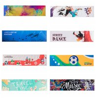 Wholesale cold scarf resale online - 120 cm Ice Cold Towel Outdoor Cooling Scarves Summer Sunstroke Sports Exercise Cool Quick Dry Soft Breathable Cooling Towel ZZA341
