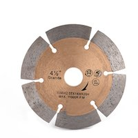 Wholesale saw blade for steel for sale - Group buy Fast Cutting Circular Saw Blades Inch D115mm Sintered Hot Press Diamond Cutting Disc for Granite Ceramic Tiles