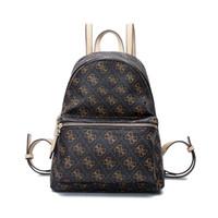 mochila mochilas de couro para meninas venda por atacado-Designer de Moda-marca feminina mochila de couro PU sacos de ombro menina mochila BAG306 nova chegada