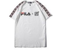 335 beyaz toptan satış-335 2019 T-shirt Yaz Giyim Bandı Beyaz T Adam Kısa Kollu T Yazık Saf Pamuk Yuvarlak Boyun Moda Erkekler Tişörtleri Grafik Gömlek