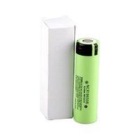 ingrosso leone leggero-3400mAh 18650 Batteria NCR18650B batteria al litio ricaricabile batterie per sigaretta elettronica / luce flash