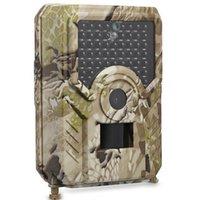avcılık gece görüş kameraları toptan satış-PR200 Açık Su Geçirmez Anti-hırsızlık Otomatik Izleme Avcılık Kamera Spor Eylem Kamera HD 1080 P IR Gece Görüş