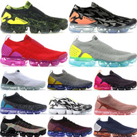 Wholesale ii rubber shoes for sale - Group buy High quality New Fly II FK MOC Designer Shoes Mens Acronym Sail Casual Trainers Women Sneakers size36