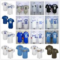 jersey azul royals al por mayor-2019 Hombres Mujeres Juventud Royals Jerseys Cosido Béisbol 16 Bo Jackson Blanco Gris Gris Azul Oro Verde Saludo al servicio de los jugadores Jersey de fin de semana