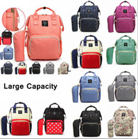 8dcd1b35cacf4 Mommy Backpacks 10Styles Mother Pack Nappies Diaper Bags Camo Waterproof  Maternity Handbags Nursing Travel Outdoor Bags 20pcs AAA786