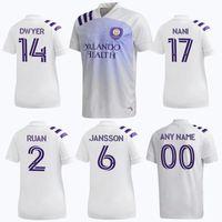 Wholesale orlando soccer jersey resale online - 2020 MLS Club Orlando City SC Away Soccer Jerseys NANI MOUTINHO Soccer Shirt MUELLER DWYER Football Uniform