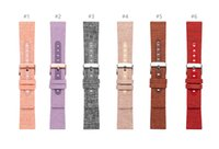 Wholesale Genuine Leather Watch Band For Apple Watch leather Strap Wrist band Replacement Compatible For Iwatch series LL83003