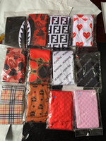 venta de gorros al por mayor-Diseñador Satin seda cabeza Wrap Durag Long Tail Gorros para hombres Mujeres Alta calidad 61 diseño Hip hop Headwraps Cap Streetwear Factory Sale
