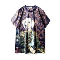 Wholesale cartoon for sale - New Mens Designer T Shirts Hip Hop Designer Shirt D Cartoon Dog Womens Short Sleeve S XXL