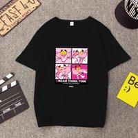 camisas ocasionais da camisa das mulheres t das mulheres venda por atacado-camisa T de alta qualidade Mulher Moda Primavera-Verão Imprimir manga curta em torno do pescoço Mulheres Tops soltas T-shirt Casual Femme