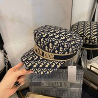 Wholesale hot beanies resale online - C D designer bucket hat black blue Khaki lady autumn beanie hot Sale top fashion women designer hat